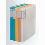 Color Transparent clear book A4 (30pages)