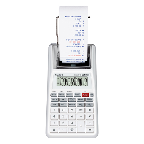 Canon P1DHVG Printing calculator