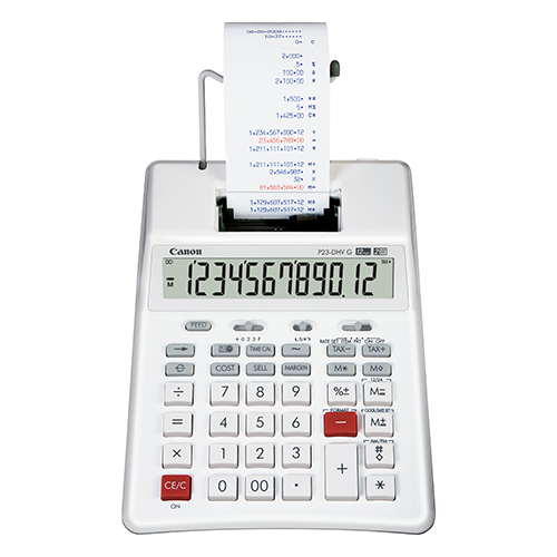 Canon P23-DHVG  Printing calculator