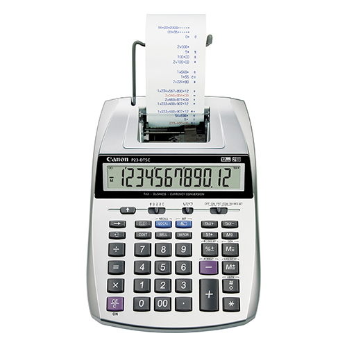 Canon P23-DTSC  Printing calculator