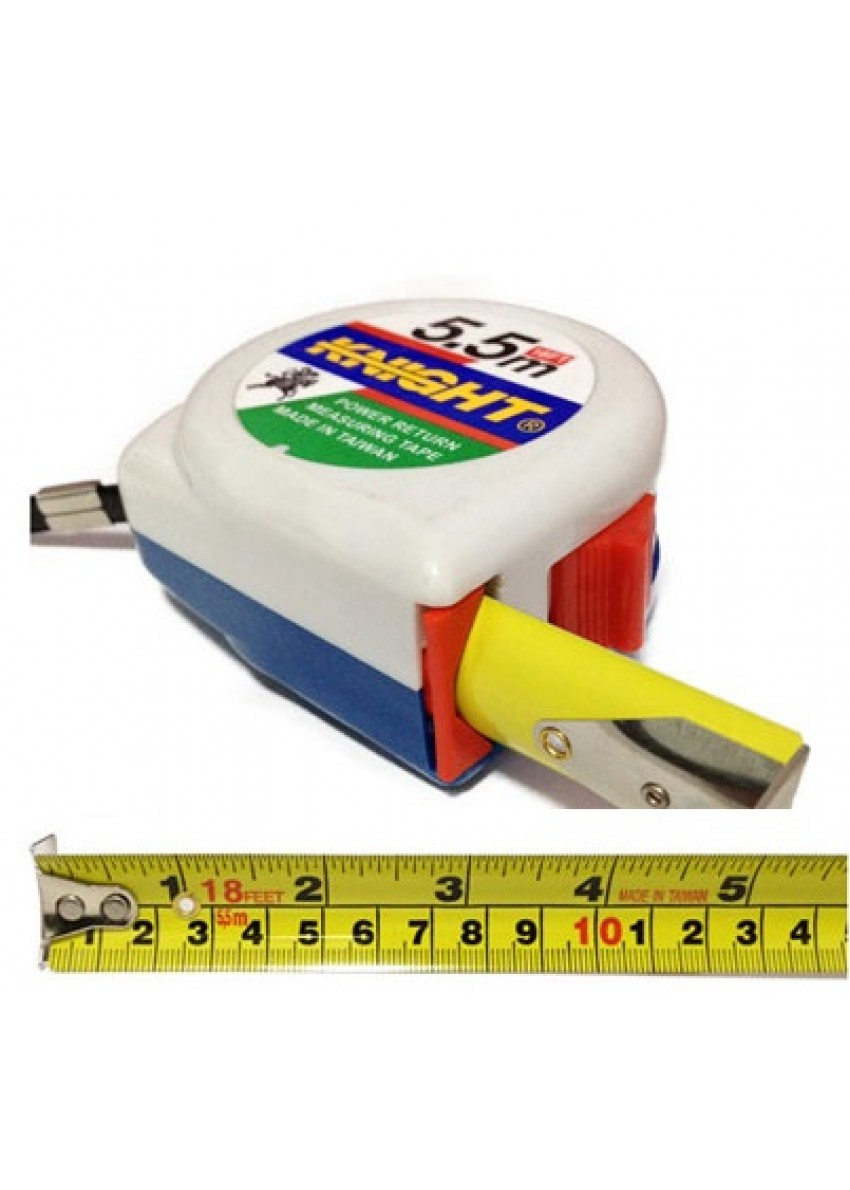 Knight Retractable Measure Tape  5.5M