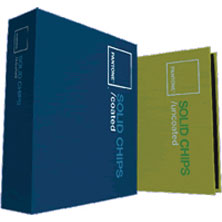 PANTONE® SOLID CHIPS / 2 book set coated, uncoated